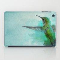 hummingbird iPad Cases featuring Hummingbird by Marvelis