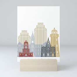Halifax skyline poster Mini Art Print