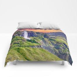 Downward Flow Comforters