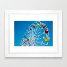 Carival Ferris Wheel Framed Art Print