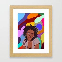 Ms. Lauryn Hill Framed Art Print