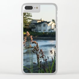 Small Alaskan Wildflowers Clear iPhone Case