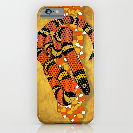 Mexican Candy Corn Snake iPhone & iPod Case