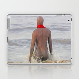 Gormley Iron Man (Digital Art) Laptop & iPad Skin