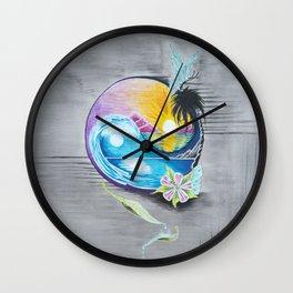 """Balance"" Wall Clock"