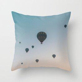 Cappadocia Sunrise Throw Pillow