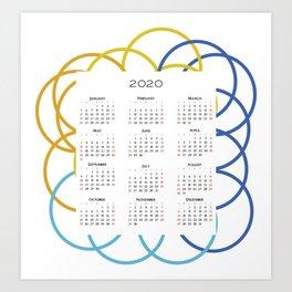 Calendar  Art Print
