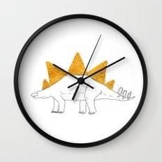 Stegodoritosaurus Wall Clock