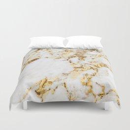 Luxe bright golden Duvet Cover