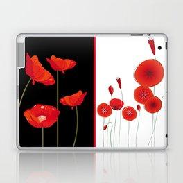 Graceful poppies Laptop & iPad Skin