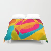 magnolia Duvet Covers featuring magnolia by Julia Tomova
