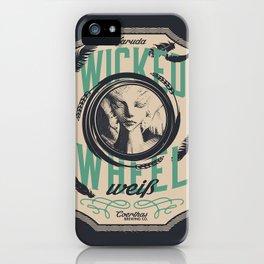 Wicked Wheel Weiß    FFXIV iPhone Case