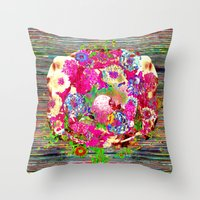 rare Throw Pillows featuring Rare Earth by Fawnover