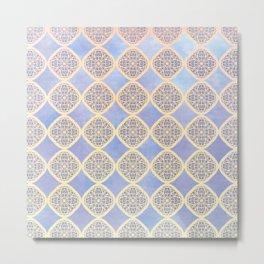 Daydream in Blue Metal Print