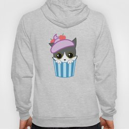 cupcake kitty Hoody