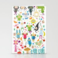 katamari Stationery Cards featuring KATAMARI DAMACY by Erin Lowe