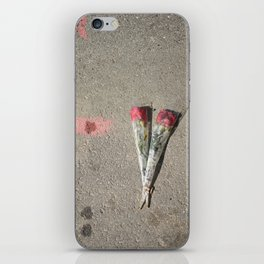 Say it with flowers iPhone Skin
