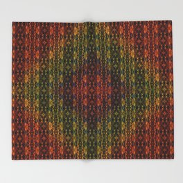 Kaleidescape Pattern Throw Blanket