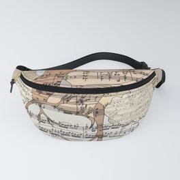 Sound Of My Heart Fanny Pack