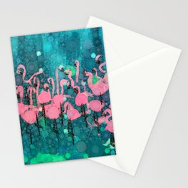 :: Flamingos Among Us :: Stationery Cards