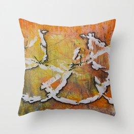 Hay naranjas! Throw Pillow