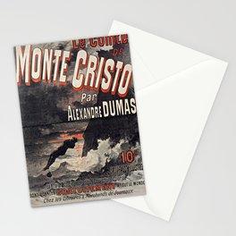 Le Comte de Monte-Cristo Stationery Cards