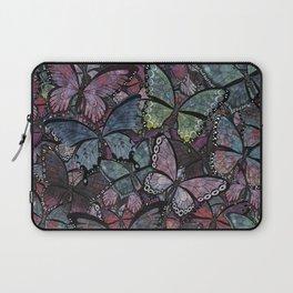 butterflies galore noir version Laptop Sleeve