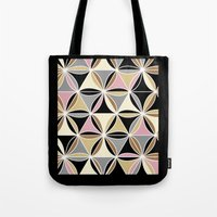 quilt Tote Bags featuring quilt 2015 by Ariadne