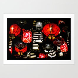 Bundle of Lanterns Art Print