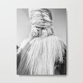 Kuker Performer Black and White Portrait Photography II Metal Print