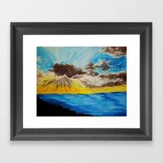 Beach 2 Framed Art Print