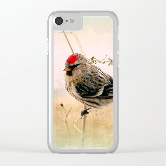 Redpoll Clear iPhone Case