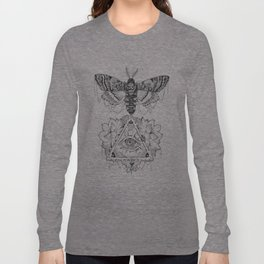 All Seeing Death's Head Long Sleeve T-shirt