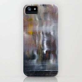 Abstract Square Foot iPhone Case