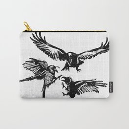 Crow Parliament Carry-All Pouch