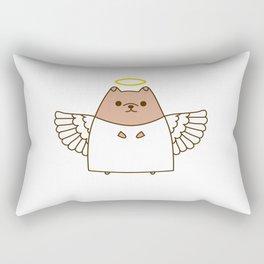 Cute Christmas Angel Pupsheen Rectangular Pillow