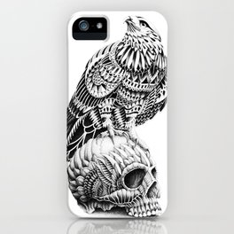 Red-Tail Skull iPhone Case