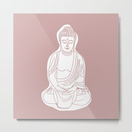 Buddha. Metal Print