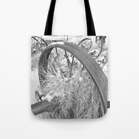 farm Tote Bags featuring Farm by Justine O'Neil Photography