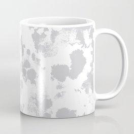 Grey - pattern painting gray and white minimal modern art large stretched canvas minimal decor Coffee Mug