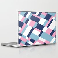 matisse Laptop & iPad Skins featuring Matisse Map Pink by Project M