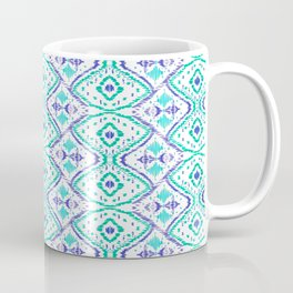 Ikat II Aqua Coffee Mug