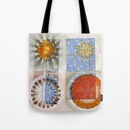 Goondie Fact Flower  ID:16165-095608-32641 Tote Bag
