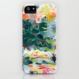 """""""Jitter"""" Mixed Media iPhone Case"""