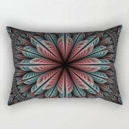 Fantasy flower and petals IV Rectangular Pillow