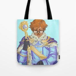 King Lucian Tote Bag