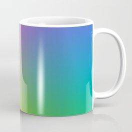 Fluorescent Gradient Rainbow Coffee Mug