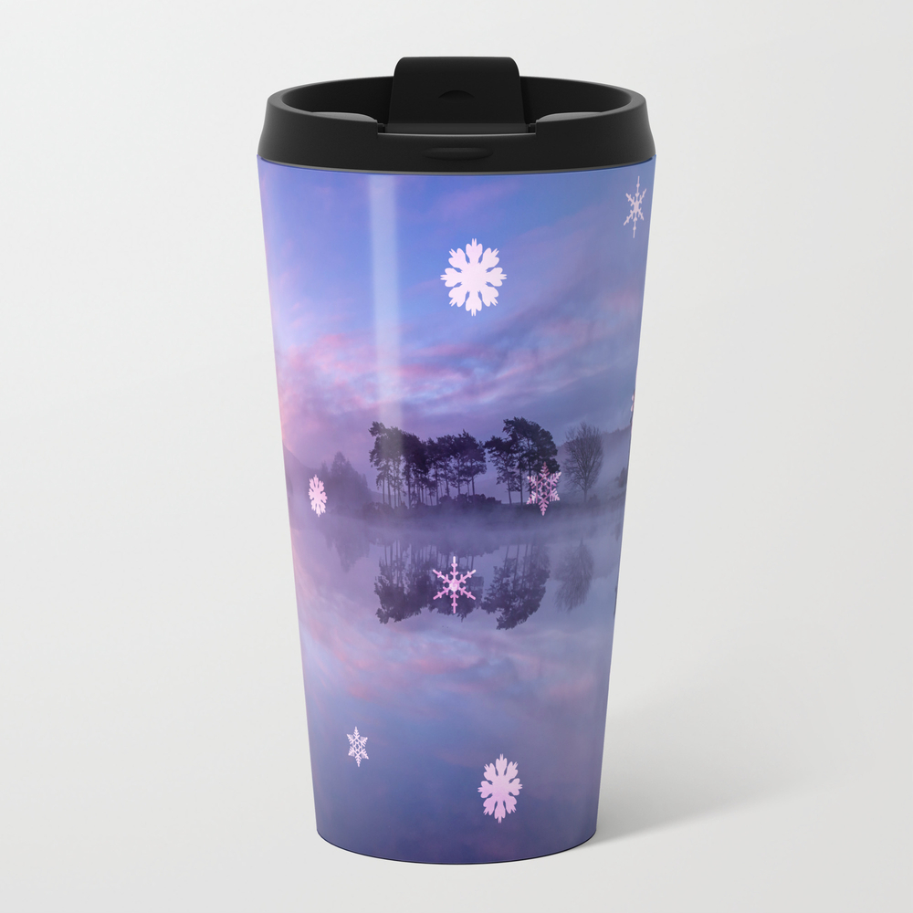 Lens Snowflakes Travel Cup TRM7918752