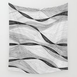 Mountain Ribbons 2 Wall Tapestry