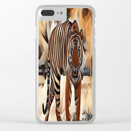 The Bengal Tiger Clear iPhone Case